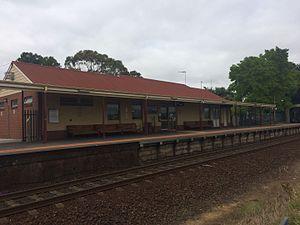 Moe railway station - Moe Railway Station, 2017