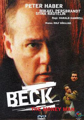 Beck – The Money Man - Swedish DVD-cover