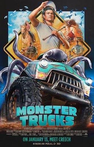 Monster Trucks (film) - Image: Monster Trucks poster