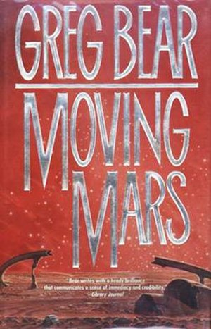 Moving Mars - Cover of first edition (hardcover)
