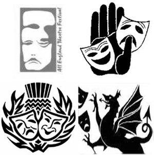 National Festival of Community Theatre - Image: NFC Tmemberlogos