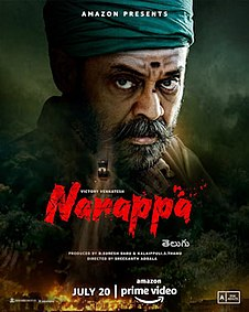 <i>Narappa</i> 2021 film directed by Srikanth Addala