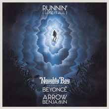Naughty Boy featuring BeyoncГ© and Arrow Benjamin — Runnin' (Lose It All) (studio acapella)