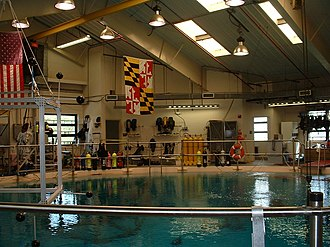 Space Systems Laboratory - The tank at the SSL's Neutral Buoyancy Research Facility