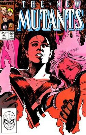Empath (comics) - Image: New Mutants 62