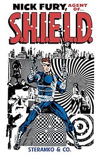 Nick Fury Comic book character
