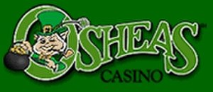 O'Sheas Casino - Image: Osheas las vegas logo