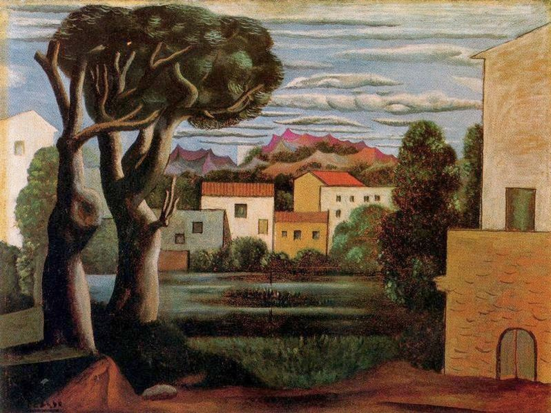 File Pablo Picasso 1919 Paysage Landscape With Dead And