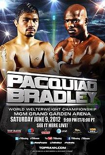 Manny Pacquiao vs. Timothy Bradley 2012 boxing match