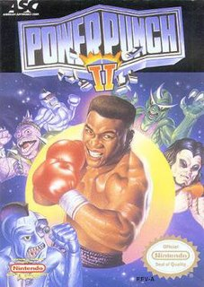 <i>Power Punch II</i> video game