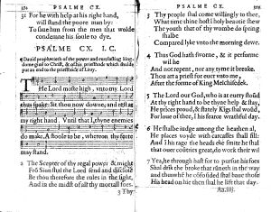 "John Craig (minister) - One of Psalms translated by John Craig (""I.C."") ca. AD 1564, Scottish Psalter"