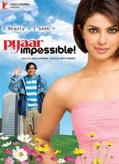 <i>Pyaar Impossible!</i> 2010 film by Jugal Hansraj