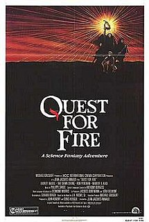 <i>Quest for Fire</i> (film) 1981 adventure film by Jean-Jacques Annaud