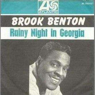 Rainy Night in Georgia - Image: Rainy night in georgia 45