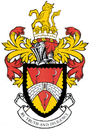 South Bedfordshire - Coat of Arms of South Bedfordshire District Council