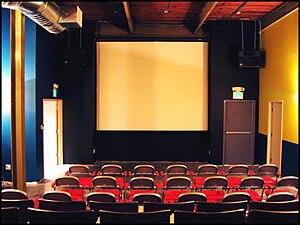 911 Media Arts Center -  Former Screening Room at 911 Media Arts Center's 9th Avenue Address in 2006
