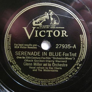 Serenade in Blue - 1942 RCA Victor 78, 27935-A.