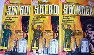 Sgt. Rock - Image: Sgtrockdoll 2