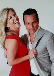 Sonny Corinthos and Carly Benson