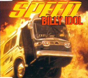 Speed (Billy Idol song) - Image: Speed cover art