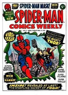 <i>Spider-Man Comics Weekly</i>