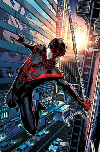 Alternative versions of Spider-Man - Image: Spider Man (Miles Morales)