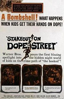 <i>Stakeout on Dope Street</i> 1958 film by Irvin Kershner