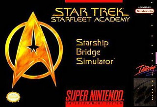 <i>Star Trek: Starfleet Academy – Starship Bridge Simulator</i> 1994 video game
