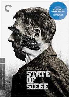 <i>State of Siege</i> 1972 film by Costa-Gavras