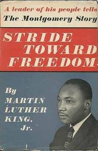 Stride Toward Freedom - First edition