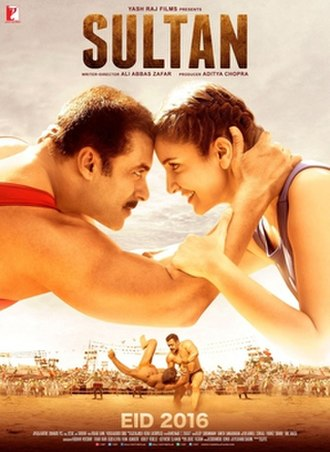 Sultan (2016 film) - Theatrical release poster