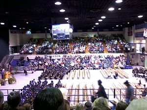 Tarleton State University - Tarleton students graduate at Wisdom Gym in December 2010