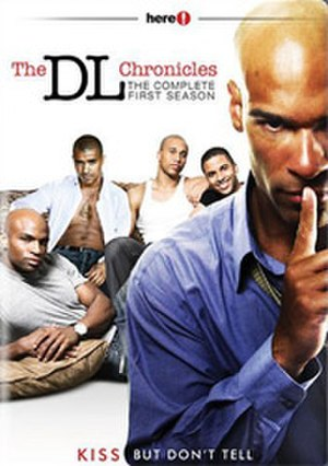 Down-low (sexual slang) - DVD cover of The DL Chronicles gay drama series.