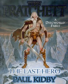 Cohen on the cover of The Last Hero
