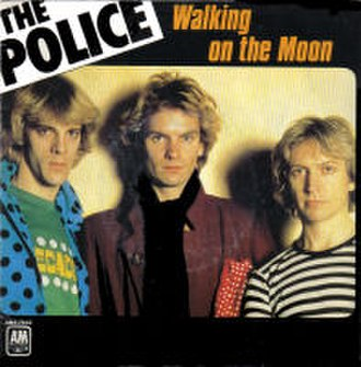 Walking on the Moon - Image: The Police Walking On The Moon French 7Inch Single Cover