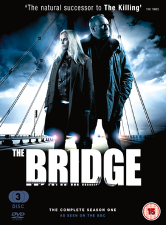 The Bridge (2011 TV series) - Series one DVD for the United Kingdom release