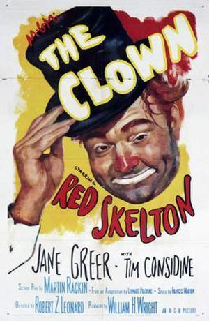 The Clown (1953 film) - theatrical film poste