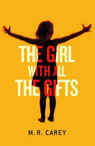 The Girl with All the Gifts - Book cover from official website