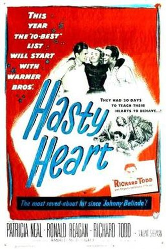 The Hasty Heart - Original film poster
