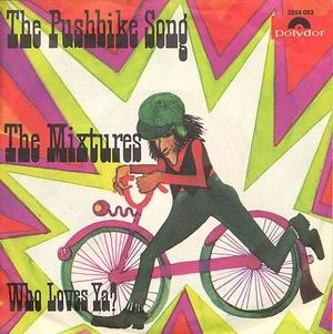 The Pushbike Song - Image: The Mixtures The Pushbike Song