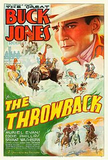 <i>The Throwback</i> (1935 film) 1935 film by Ray Taylor