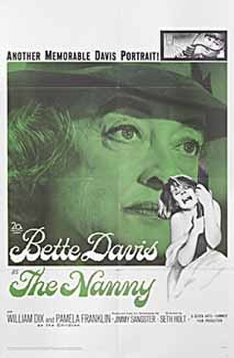 The Nanny (1965 film) - Theatrical release poster
