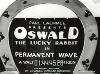 Permanent Wave (film) - The title card of Permanent Wave.