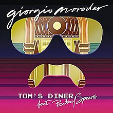 Tom's Diner single cover Giorgio Moroder ft Britney Spears.jpg