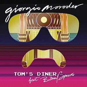 Tom's Diner - Image: Tom's Diner single cover Giorgio Moroder ft Britney Spears