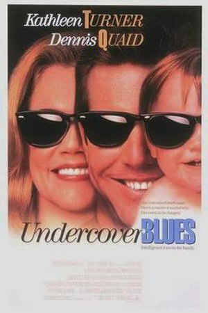 Undercover Blues - Theatrical release poster