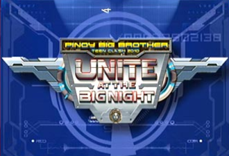 Pinoy Big Brother: Teen Clash 2010 - Unite at the Big Night logo.