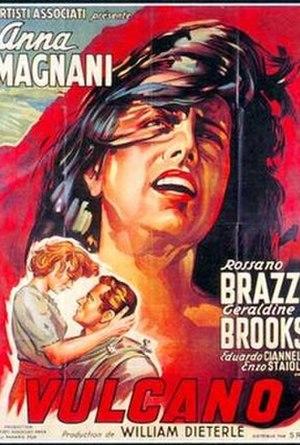 Volcano (1950 film) - Release poster