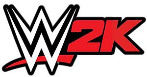 WWE 2K - The logo for the WWE 2K series