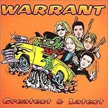 greatest latest warrant album wikipedia